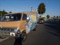 Image for Wave and Sun painted Ford Van - Redwood City, Ca
