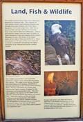 Image for Osprey Landing Land, Fish and Wildlife Marker - Libby, MT