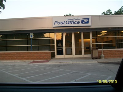 The USPS recently got a face lift...it's quite snazzy now!
