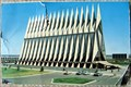 Image for US Air Force Academy Chapel postcard, Colorado Springs, CO