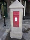 Image for Victorian Phone Box, Shrewsbury Station, Shrewsbury, Shropshire, England, UK