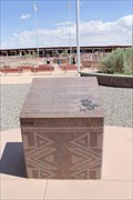 Image for Utah National Society of Professional Engineers historic marker -- nr Teec Nos Pos AZ