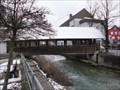 Image for Covered Bridge Betzingen, Germany, BW