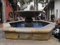 Image for Paseo Nuevo court fountain - Santa Barbara, California
