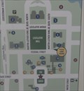 """Image for Cooper Building """"You Are Here"""" Map - Dover, Delaware"""