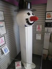 Largest PEZ Dispenser, Burlingame, California