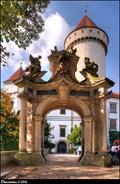 Image for Konopište Chateau Entrance Gate / Vstupní brána zámku Konopište  (Central Bohemia)