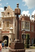 Image for Vertical sundial, England pavilion in EPCOT