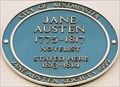 Image for Jane Austen - Henrietta Street, London, UK