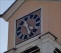 Image for Clock of Old School Building - Unterjettingen, Germany, BW