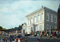 "Image for ""Poll Tax Queue Hitchin"" by Leslie Dargert – Old Town Hall, Brand St, Hitchin, Herts, UK"