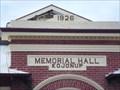 Image for 192?  - Memorial Hall ,  Kojonup ,  Western Australia