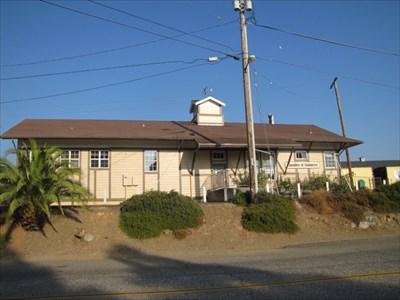 Auburn Depot Front View, Auburn, CA