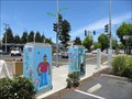 Image for Painted-People Utility Boxes, Oakland, California