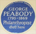 Image for George Peabody - Eaton Square, London, UK