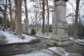 Image for Mark Twain Grave and 2362 Mark Twain Asteroid - Elmira, NY