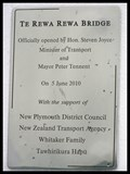 Image for Te Rewa Rewa Bridge. Taranaki. New Zealand.
