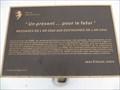 Image for Plaque des messages de l'an 2000 aux Eustachois de l'an 2050 - Saint-Eustache, Québec