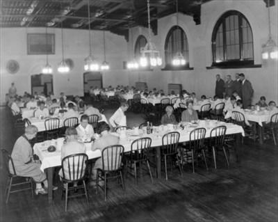 Clayton College Dining Hall ca. 1911-1920