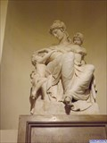 Image for Allegorical Figure of Charity - St Peter & St Paul Chapel, ORNC, Greenwich, London, UK