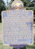 Image for PEACE: Jane Addams 1931 - Cedarville, IL