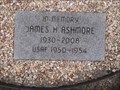 Image for James H Ashmore - Veterans Wall of Honor - Bella Vista AR