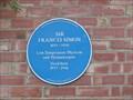 Image for Sir Francis Simon - Oxford, Oxfordshire, UK