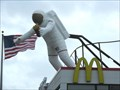 Image for Astronaut at McDonalds, Nassau Bay, TX[