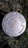 Image for U.S. Dept of Interior '1308' Boundary Marker - Siskiyou County, CA