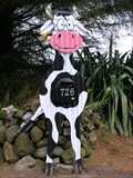 Image for Country Cow Mailbox. Taupo. New Zealand.
