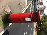 Image for Victorian Pillar Box - Holton Road, Barry, Wales, UK