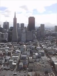 Coit Tower. San Francisco.