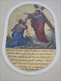 Image for Jesus/Petrus-Mosaik Schieferollkapelle Kundl, Tirol, Austria
