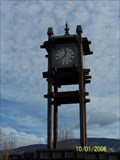 Image for Civic clock in Vernon, B.C. Can.