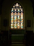 Image for Stained glass windows in St Margaret's Church, Hawes, North Yorkshire, UK