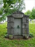 Image for Bauer Mausoleum - Mount Mora Cemetery - St. Joseph, Mo.