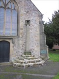 Image for Cross, St Mary's Church, Chirk, Wrexham, Wales, UK