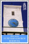 Image for Clock Tower of St. Peter's Church - St. George, Bermuda