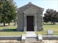 Image for Wright Mausoleum - I.O.O.F. Cemetery - Denton, TX