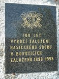 Image for 100 years anniversary memorial, Borotice, Czech republic