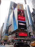 Image for Times Square- Eastern Terminus of the Lincoln Highway  -  New York City, NY