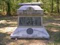 Image for Battery C, 1st Ohio Light Artillery Monument ~ Chickamauga GA