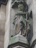 Image for Monarchs – King William II of England on side of city hall - Bradford, UK