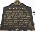Image for Walker Daniel, Danville, Boyle County, Kentucky