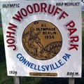 Image for Woodruff Park Sign  - Woodruff Park - Connellsville, Pennsylvania