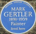 Image for Mark Gertler - Elder Street, London, UK