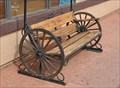 Image for Wagon Wheel Bench ~ Valle, Arizona