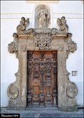 Image for Door at Piarist college / Dvere na piaristické koleji (Litomyšl, East Bohemia)