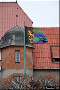 Image for Vítkovice - municipal flag at the Town Hall (Ostrava, North Moravia)