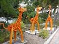 Image for Giraffe Family - Museum of Whimsy - Sarasota, Florida, USA.